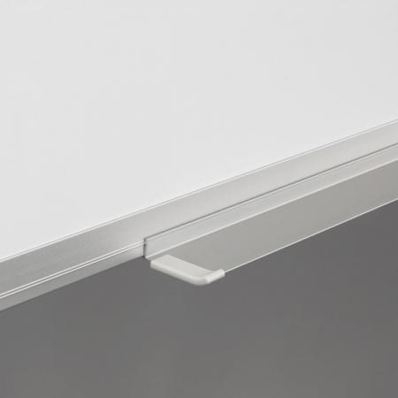 Whiteboard fata dubla cu rama din aluminiu emailat Rocada1