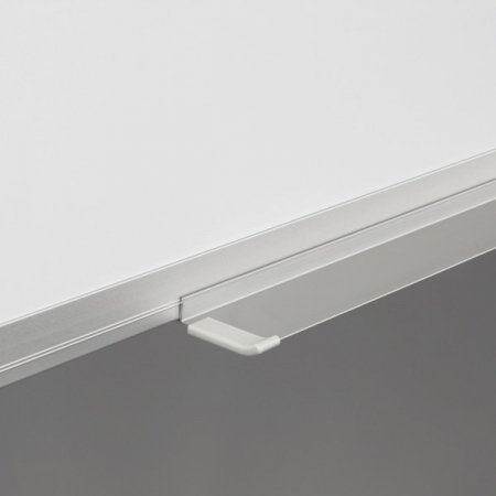 Whiteboard fata dubla cu rama din aluminiu lacuit Rocada [1]