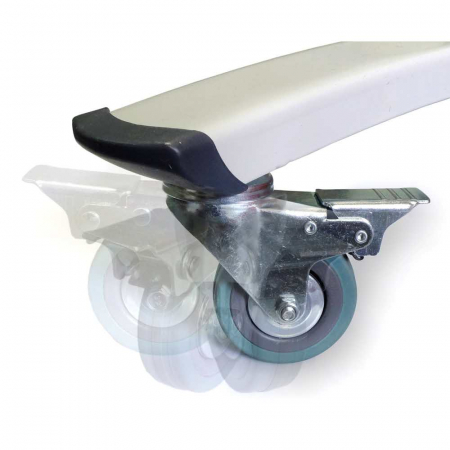 Whiteboard Mobil Magnetic Basic MEMO BE [2]