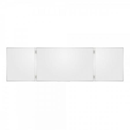 Whiteboard triptic, magnetic cu suprafata emailata0