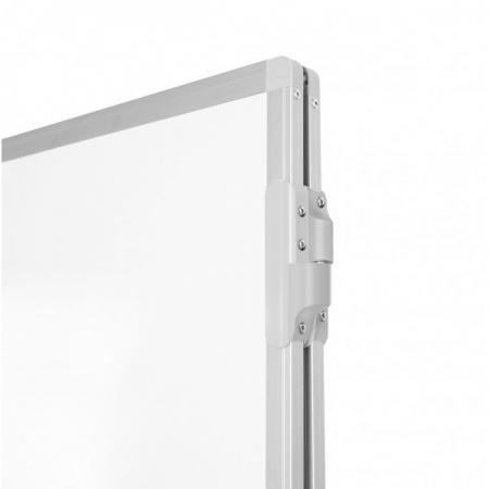 Whiteboard triptic, magnetic cu suprafata emailata2