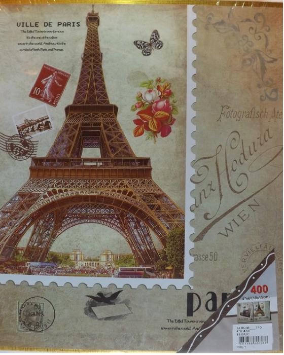 Album foto Vision, 300 poze format 10x15cm, tip clasor, Paris [0]