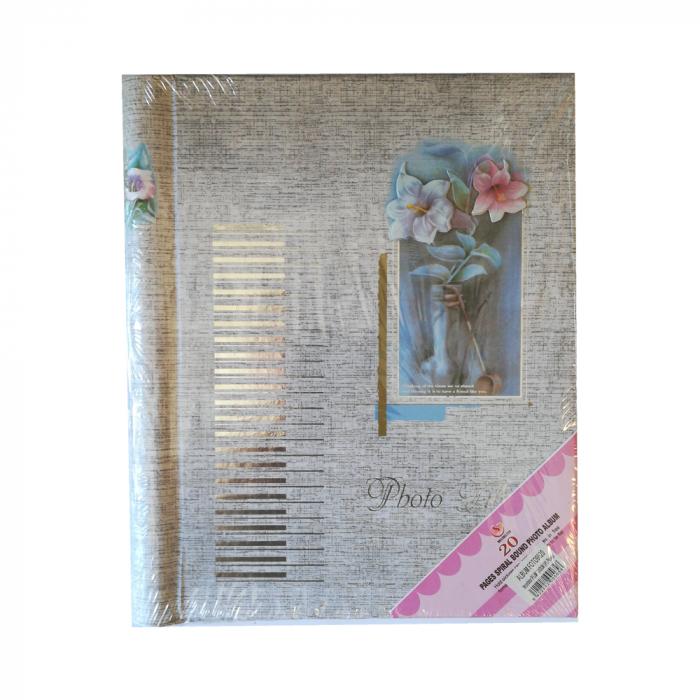 Album foto Vision cu 20 file atotoadezive, format 15x25cm [0]