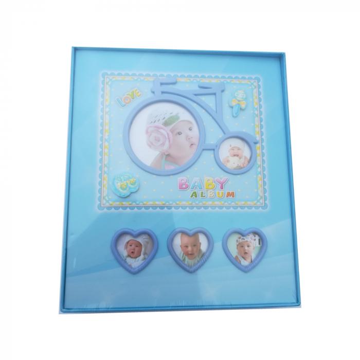 Album foto Vision pentru bebelusi baietei, 80 poze format poze 10x15 cm [0]