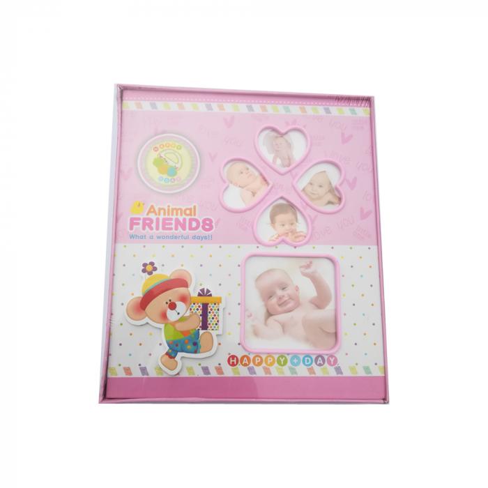 Album foto Vision pentru bebelusi fetite, 80 poze format poze 10x15 cm [0]