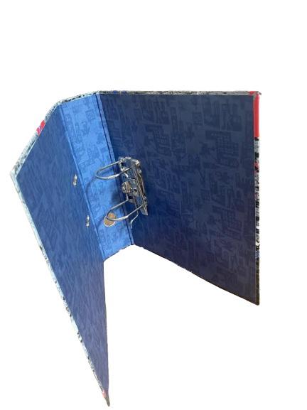 Biblioraft A4 Vision, 8cm, cu Spider-man, albastru [0]