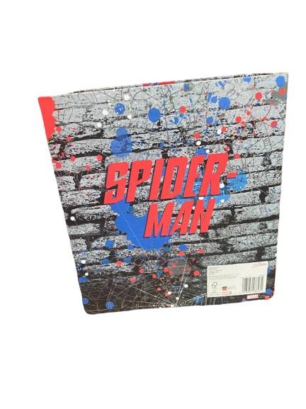Biblioraft A4 Vision, 8cm, cu Spider-man, albastru [1]