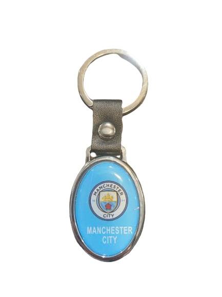 Breloc metalic pentru chei Manchester City- Vision, albastru [0]