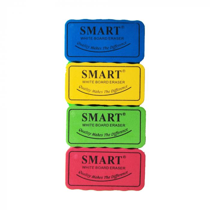 Burete de sters tabla magnetica, Vision, 13x2 cm, 4/set [0]