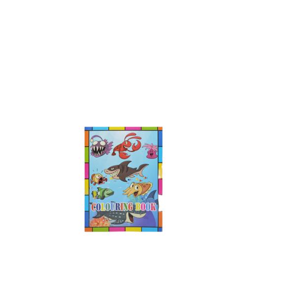 Caiet de colorat Vision,  A4, 10 file [0]