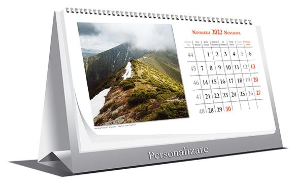 Calendar de Birou LANDSCAPES 2022, 21x10cm, 6 file+coperta [1]
