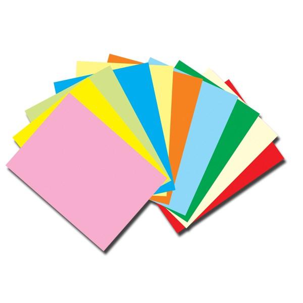 Carton mix color Format A4, Vision, 150g/mp -100coli/top -10 culori -10 coli/ culoare [0]