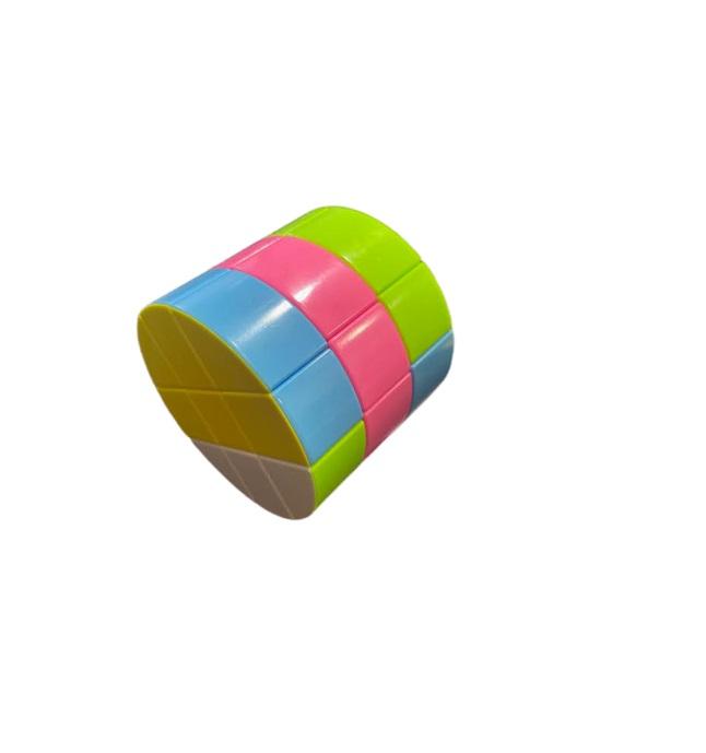 Cilindru rubik Vision, din plastic, multicolor [3]