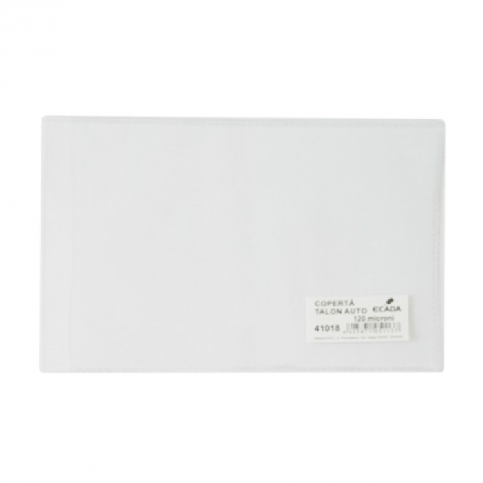 Coperta talon auto tip nou Vision, Transparent, 116 x 213 mm, pachet de 50 buc [1]
