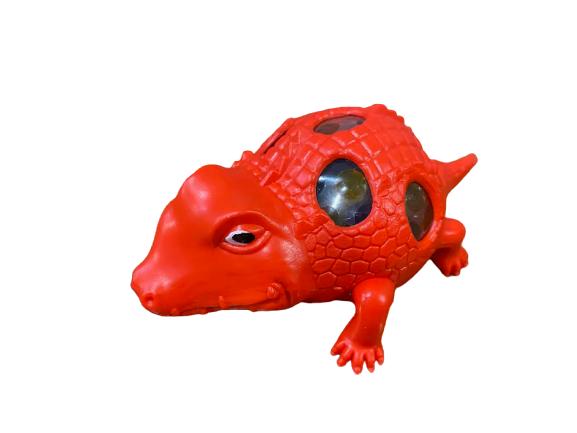 Crocodil Vision, antistres culoarea rosu [0]