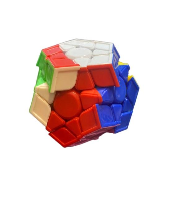 Cub magic Vision, dodecaedru cu  12 fete divers colorate [2]