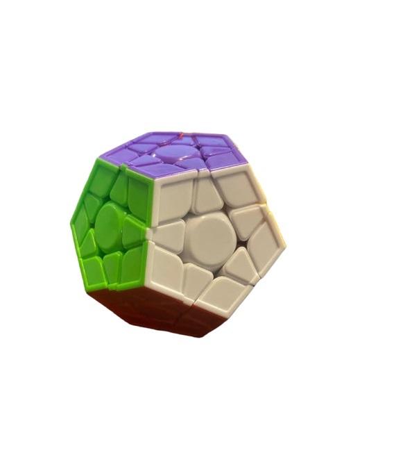 Cub magic Vision, dodecaedru cu  12 fete divers colorate [0]
