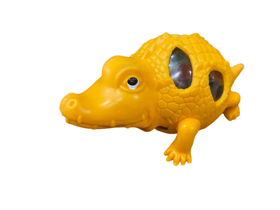 Dinozaur antistres Vision, de culoare portocalie [0]