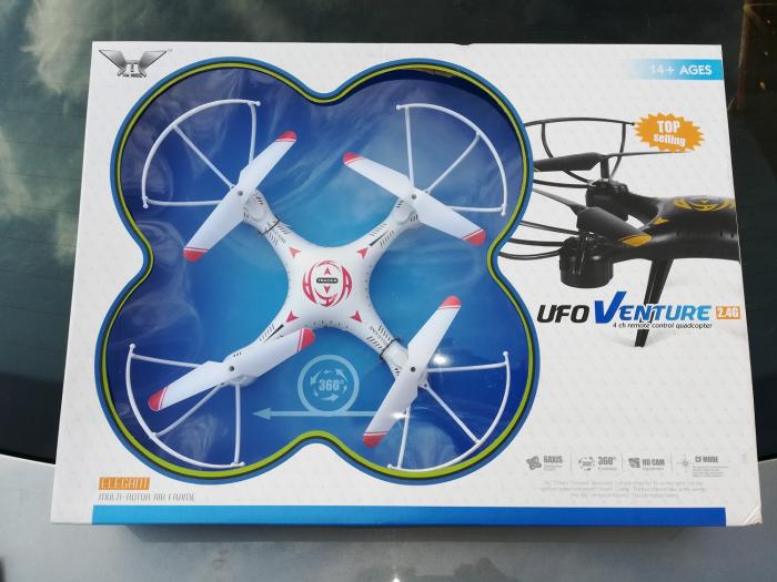 Drona cu baterii si telecomanda Vision [0]