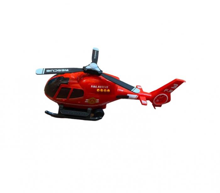 Elicopter Special Helicopter Vision, cu  radiocomanda, 20 de melodii si  proiector luminos [1]