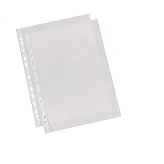 Folie protectie  A4 Vision, 25 microni transparenta 100 buc/set [0]