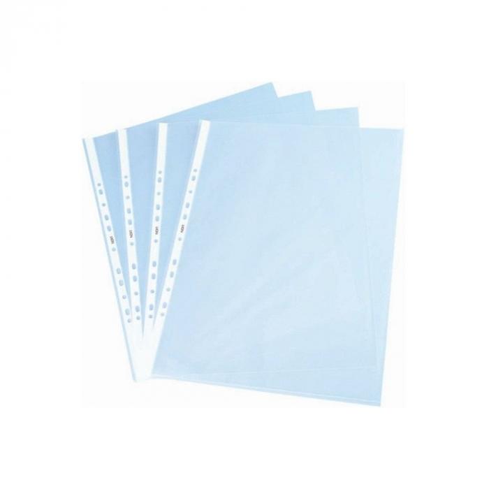 Folie protectie documente A4, Vision, 30 microni transparenta 100 buc/set [0]