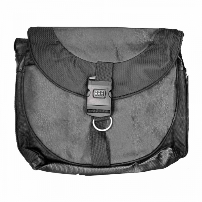"""Geanta Laptop Vision Seif 16,1"""", piele ecologica, negru [0]"""