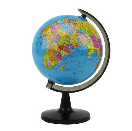 Glob pamantesc mic Vision, cartografie politica in limba engleza, 14 cm [0]