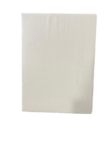 Husa saltea cu elastic - Vision, 100% bumbac, 90 x 200 cm, Alb [0]