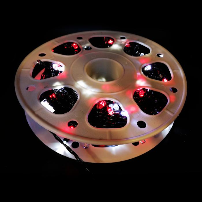 Instalatie de exterior 40 metri lungime, 300 leduri diamant, multicolor- Vision [7]