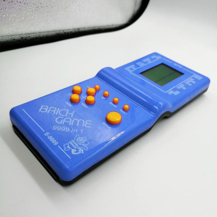 Joc clasic Tetris 9999 in 1, Brick Game, albastru, Vision® [2]