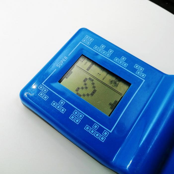 Joc clasic Tetris 9999 in 1, Brick Game, albastru, Vision® [1]
