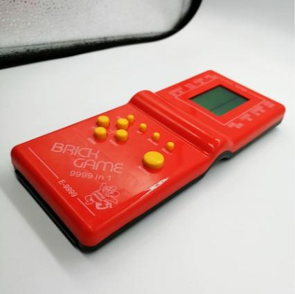 Joc clasic Tetris 9999 in 1, Brick Game, rosu, Vision® [2]