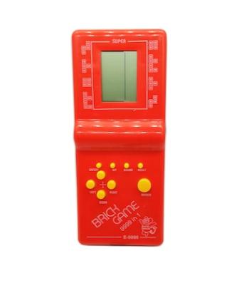 Joc clasic Tetris 9999 in 1, Brick Game, rosu, Vision® [3]