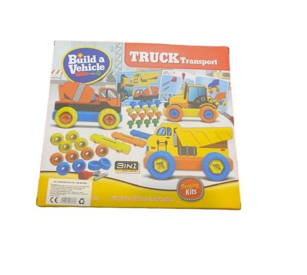 Joc de constructie Vision, 3 in 1, Truck Transport [1]