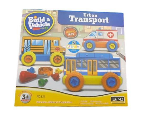 Joc de constructie Vision, 3 in 1, Urban Transport [1]
