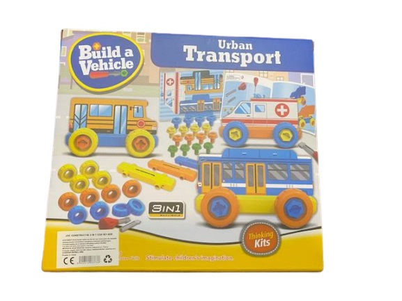 Joc de constructie Vision, 3 in 1, Urban Transport [0]