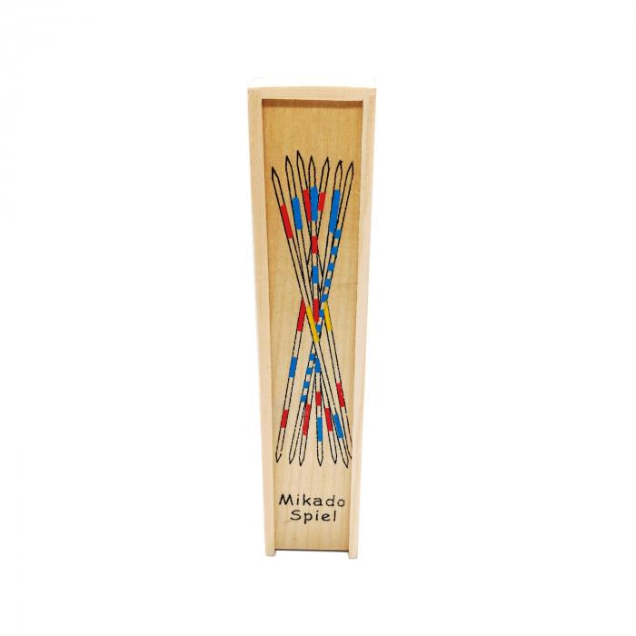Joc Marocco din lemn, cutie lemn, 20 cm, multicolor Vision [0]