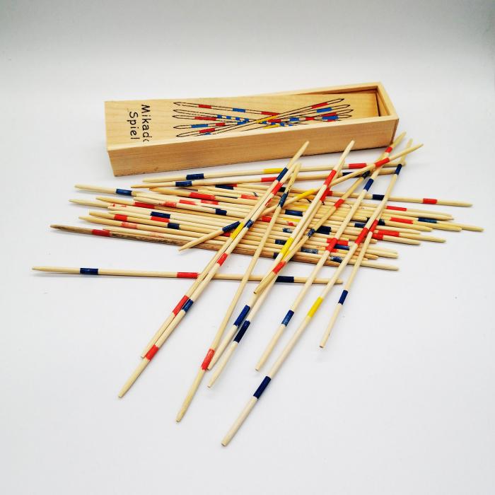 Joc Marocco din lemn, cutie lemn, 20 cm, multicolor Vision [1]