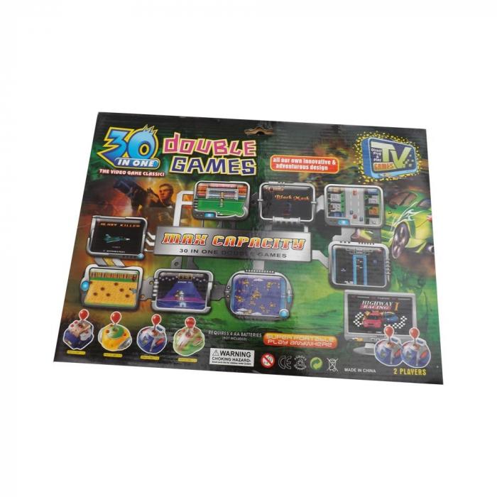 Joc TV CANHUI TOYS- Vision cu doua manete si 30 jocuri incluse [1]
