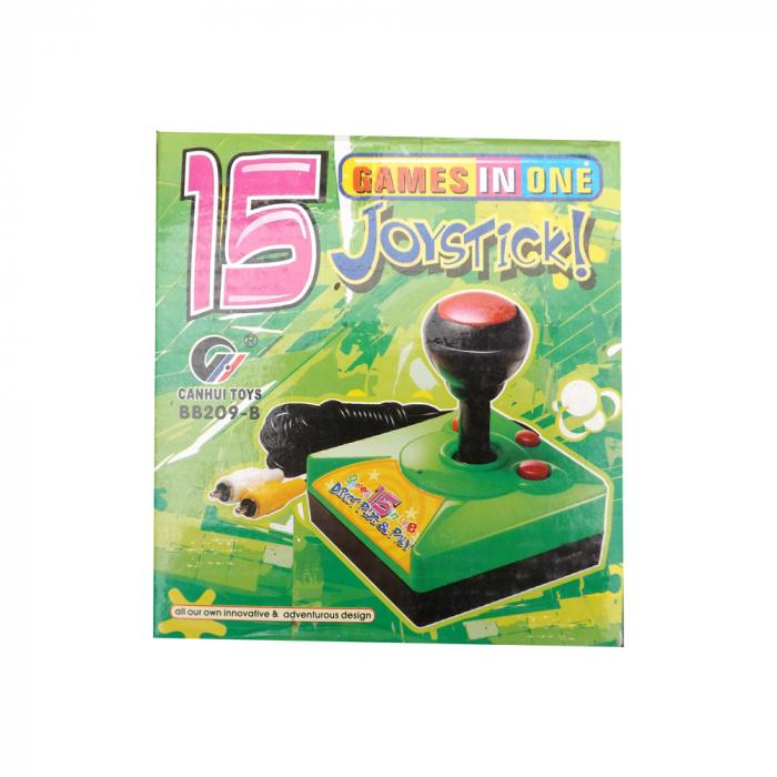Joc TV cu baterii Vision-CANHUI TOYS cu 15 jocuri clasice intr-un singur joystick [0]