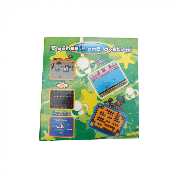 Joc TV cu baterii Vision-CANHUI TOYS cu 15 jocuri clasice intr-un singur joystick [3]