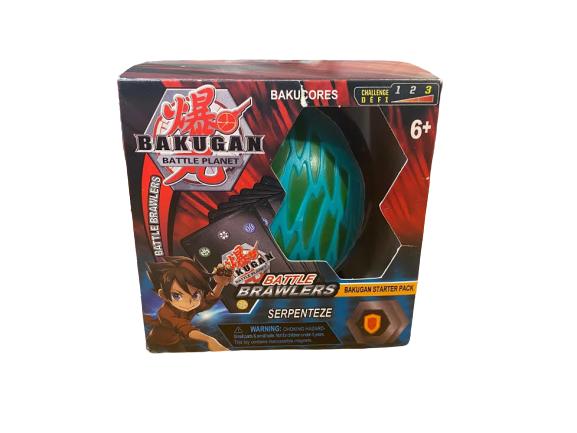 Jucarie Bakugan Battle Planet Vision, transformabil cu suport magnetic si trei carti de joc [0]