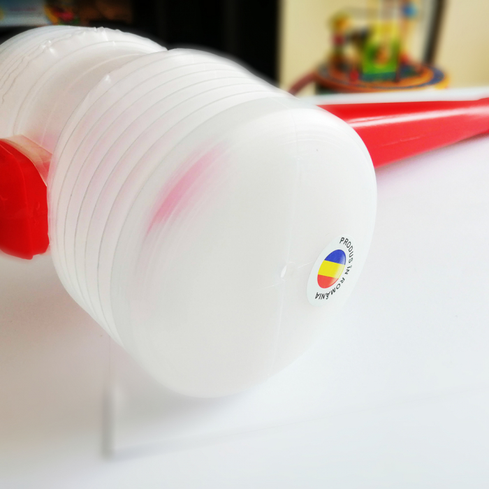Jucarie ciocan cu fluier, Vision, 42 cm [1]