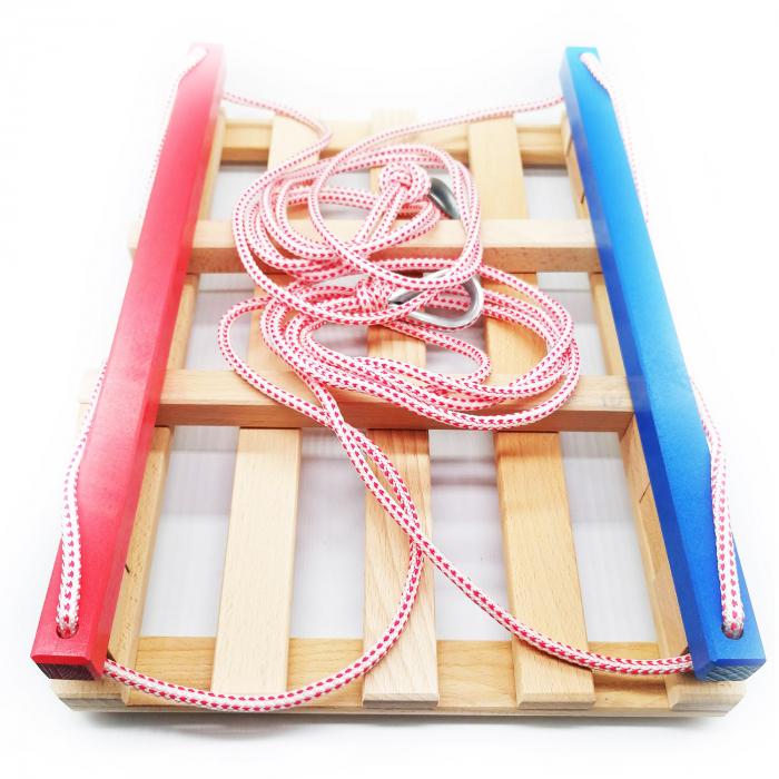 Leagan pentru copii din lemn, Vision, multicolor [1]