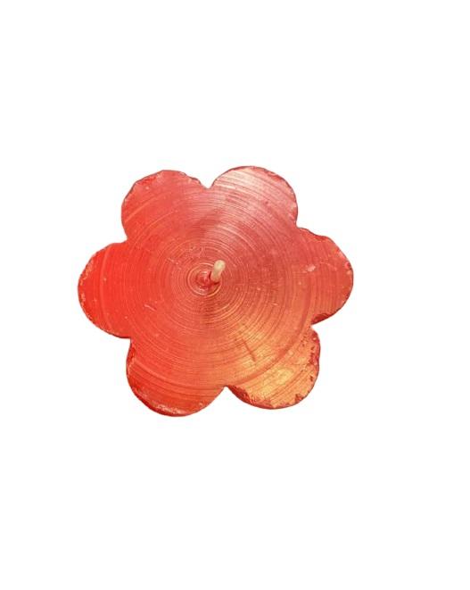 Lumanare Vision, forma de floare rosie, 6x8cm [1]