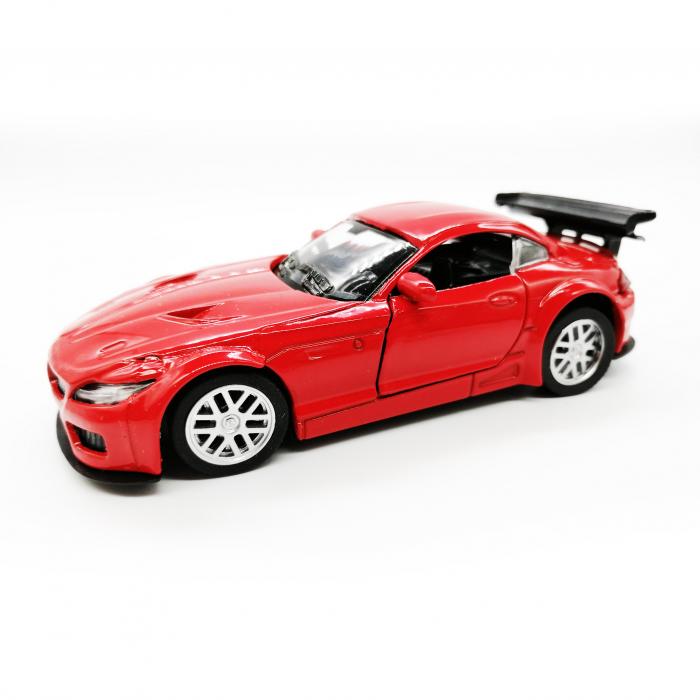 Macheta metalica Vision, BMW seria 4 Cabrio, rosu, scara 1:36 [0]