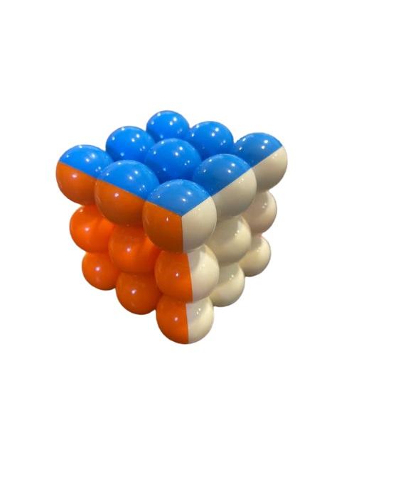 Magic cube Vision, cu  profile rotunde, multicolorate [2]