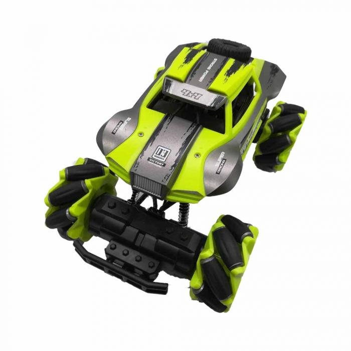 Masina cu telecomanda Drifking Climbing - Vision,1:16, 4WD, Negru-Verde [0]