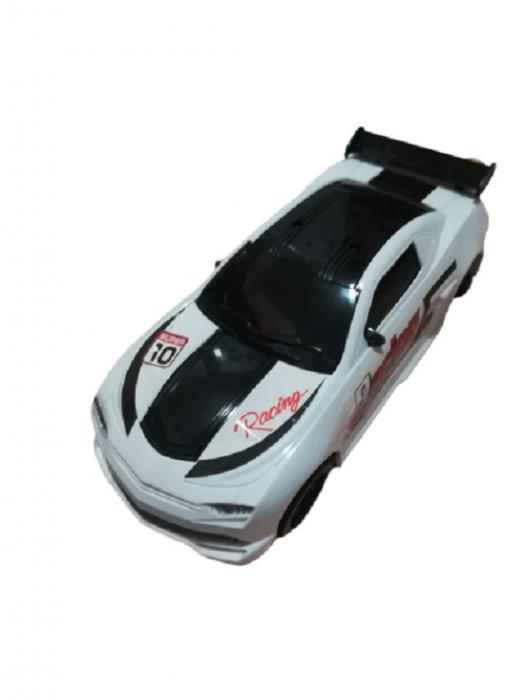 Masina de curse cu baterii Super Speed Car Vision, cu lumini si sunete [0]